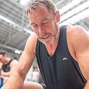 11:10 AM- Perry Group #12- Men?s 1000m Masters A, B, C, Novice<br /> <br /> NZ Indoor Champs, raced at Avanti Drome, Cambridge, New Zealand, Saturday 23rd November 2019 © Copyright Steve McArthur / @rowingcelebration www.rowingcelebration.com
