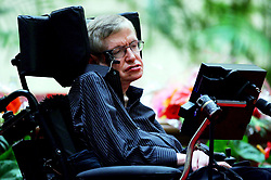 March 13, 2018 - FILE - STEPHEN HAWKING has died due to amyotrophic lateral sclerosis, a progressive neurodegenerative, he was 76. The British theoretical physicist was known for his groundbreaking work with black holes and relativity, and was the author of several popular science books including A Brief History of Time. PICTURED: Jun 18, 2006; Beijing, CHINA; British theoretical physicist and mathematician STEPHEN HAWKING visits the Temple of Heaven in Beijing. Stephen Hawking is visiting Beijing to attend an academic conference, according to state media (Credit Image: © Yang Chen/Color China Photos/ZUMAPRESS.com)