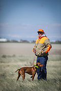SHOT 5/9/20 10:17:51 AM - Various pointing breeds compete in the Vizsla Club of Colorado Licensed Hunt Test Premium at the Rocky Mountain Sporting Dog Club Grounds in Keenesburg, Co. (Photo by Marc Piscotty / © 2020)