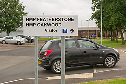 Entrance to HMP Featherstone and HMP Oakwood