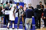 DESCRIZIONE : Desio Eurolega Euroleague 2014-15 EA7 Emporio Armani Milano Panathinaikos Atene<br /> GIOCATORE : Shawn James Spike Lee<br /> CATEGORIA : postgame vip<br /> SQUADRA : EA7 Emporio Armani Milano<br /> EVENTO : Eurolega Euroleague 2014-2015<br /> GARA : EA7 Emporio Armani Milano Panathinaikos Atene<br /> DATA : 11/12/2014<br /> SPORT : Pallacanestro <br /> AUTORE : Agenzia Ciamillo-Castoria/Max.Ceretti<br /> Galleria : Eurolega Euroleague 2014-2015<br /> Fotonotizia : Desio Eurolega Euroleague 2014-15 EA7 Emporio Armani Milano Panathinaikos Atene<br /> Predefinita :