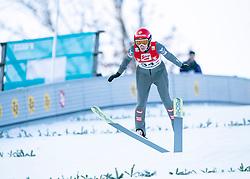 08.02.2020, Energie AG Skisprung Arena, Hinzenbach, AUT, FIS Weltcup Ski Sprung, Damen, Wertungsdurchgang, im Bild Daniela Iraschko-Stolz (AUT) // during her competition jump for the women's FIS Ski Jumping World Cup at the Energie AG Skisprung Arena in Hinzenbach, Austria on 2020/02/08. EXPA Pictures © 2020, PhotoCredit: EXPA/ Reinhard Eisenbauer