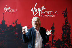 Sir Richard Branson during the Virgin Hotels Groundbreaking event at India Buildings, Edinburgh. PRESS ASSOCIATION Photo. Issue date: Wednesday May 23, 2018. Photo credit should read: Robert Perry/PA Wire