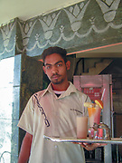 Portrait of a waiter in Cairo, Egypt