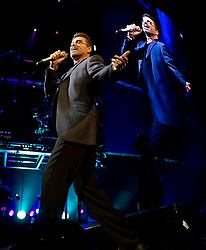 GEORGE MICHAEL (born Georgios Kyriacos Panayiotou, 25 June 1963 - 25 December 2016) was an English singer, songwriter, and record producer who rose to fame as a member of the music duo Wham! in the 1980s, with best-selling post-disco dance-pop songs such as 'Last Christmas' and 'Wake Me Up Before You Go-Go'. His 1987 debut solo album 'Faith' sold more than 20 million copies worldwide. Michael garnered seven number one singles in the UK and eight number one hits in the U.S. PICTURED: Jun 19, 2008 - San Jose, California, U.S. - George Michael performs at the HP Pavilion. (Credit Image: John Green/Bay Area News Group via ZUMA Press)