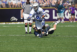 31 May 2010: Duke Blue Devils defenseman CJ Costabile (9) in a 5-6 win over the Notre Dame Fighting Irish for the NCAA Lacrosse Championship at M&T Bank Stadium in Baltimore, MD.