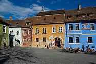 Sighisoara, a UNESCO World Heritage Site, Transylvania, Romania