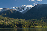 Mount Shuksan seen from Baker Lake, North Cascades Washington