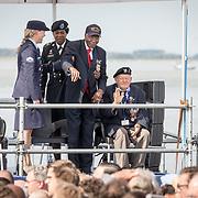 NLD/Terneuzen/20190831 - Start viering 75 jaar vrijheid, Oorlogsveteraan Matthew Brown