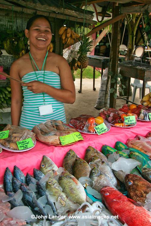 Fresh Seafood at Alona Beach