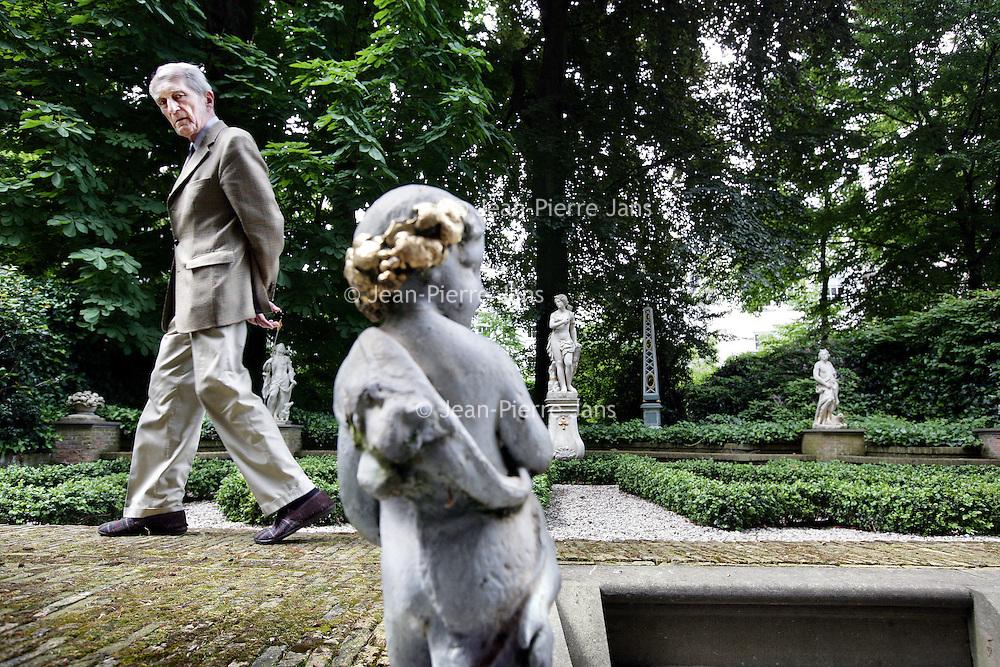 Nederland,Amsterdam ,3 juni 2008..Gustav Leonhardt ('s-Graveland, 30 mei 1928) is een Nederlands klavecinist, organist en dirigent..Leonhardt is sinds 1954 docent klavecimbel op het Conservatorium van Amsterdam..Gustav Leonhardt, organist and conductor of Baroque music.