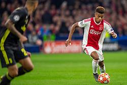 10-04-2019 NED: Champions League AFC Ajax - Juventus,  Amsterdam<br /> Round of 8, 1st leg / Ajax plays the first match 1-1 against Juventus during the UEFA Champions League first leg quarter-final football match / David Neres #7 of Ajax