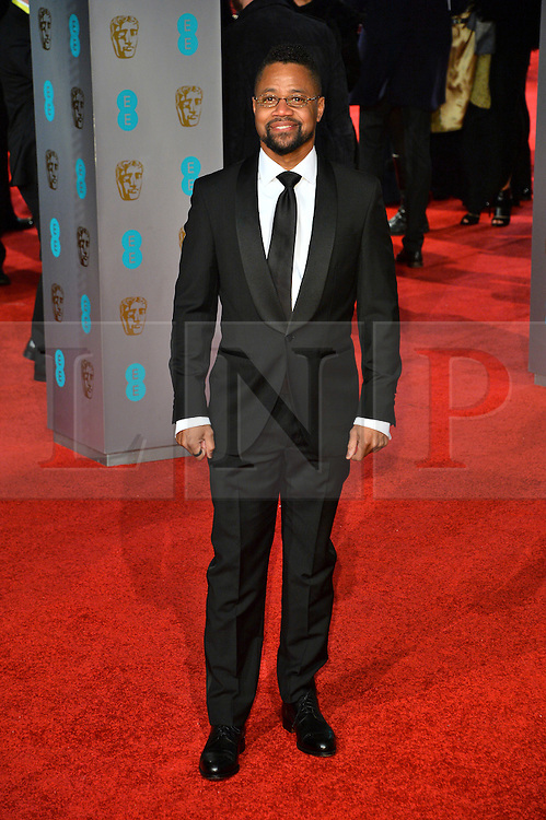 © Licensed to London News Pictures. 14/02/2016.  London, UK. CUBA GOODING JR arrives on the red carpet at the EE British Academy Film Awards 2016  Photo credit: Ray Tang/LNP