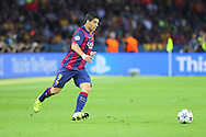 Barcelona Luis Suárez during the Champions League Final between Juventus FC and FC Barcelona at the Olympiastadion, Berlin, Germany on 6 June 2015. Photo by Phil Duncan.