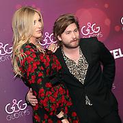 Sänger Baschi mit Freundin Alana Netzer anlässlich der Glory-Verleihung 2018 am 12. Januar 2019 im Aura Club Zürich.