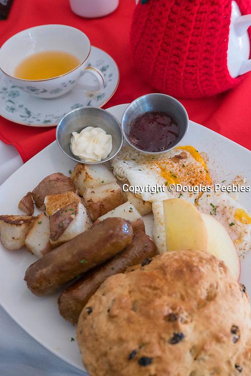 Scottish Bangers and Eggs, Vicotria, Vancouver Island, Canada