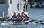 Henley-on-Thames. United Kingdom.  2017 Henley Royal Regatta, Henley Reach, River Thames. <br /> <br /> <br /> 15:28:17  Sunday  02/07/2017   <br /> <br /> [Mandatory Credit. Peter SPURRIER/Intersport Images.