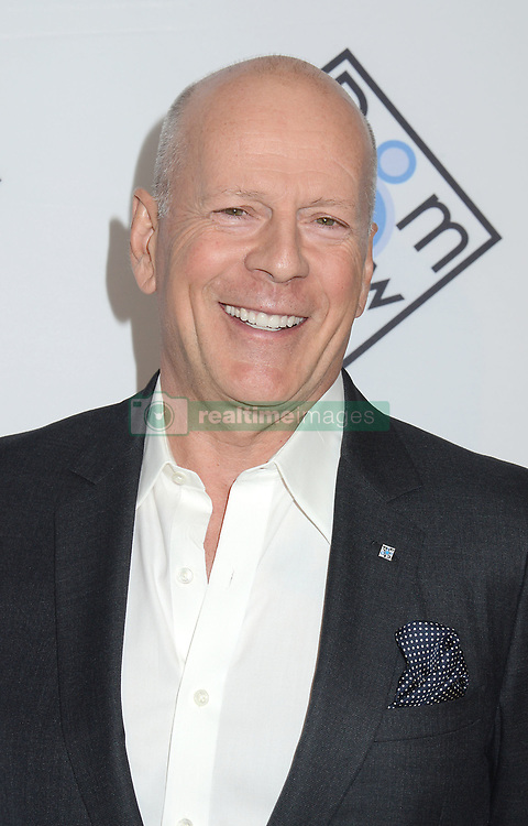 """Bruce Willis attends the """"Room To Grow"""" Spring Benefit on  April 5,2017 at Guastavino's in New York, New York, USA. *** Please Use Credit from Credit Field ***"""
