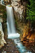 Christine Falls in Mount Rainier National Park, Washington state, USA