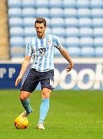 Coventry City's Sam Ricketts<br /> <br /> Photographer Andrew Vaughan/CameraSport<br /> <br /> Football - The Football League Sky Bet League One - Coventry City v Fleetwood Town - Saturday 27th February 2016 - Ricoh Stadium - Coventry   <br /> <br /> © CameraSport - 43 Linden Ave. Countesthorpe. Leicester. England. LE8 5PG - Tel: +44 (0) 116 277 4147 - admin@camerasport.com - www.camerasport.com