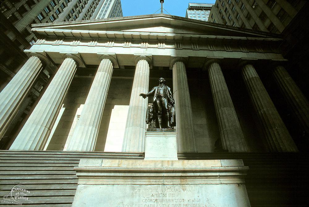 Federal Hall, Wall Street, Manhattan, New York