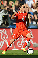 Fotball<br /> 26.05.2012<br /> Sveits v Tyskland<br /> Foto: Witters/Digitalsport<br /> NORWAY ONLY<br /> <br /> Reto Ziegler (Schweiz)<br /> Fussball, Testspiel, Schweiz - Deutschland