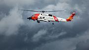 USA, Oregon, Hood River, US Coast Guard HH60 Jayhawk.