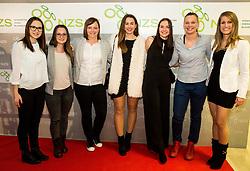 Women futsal team of Slovenia during Traditional New Year party of of the Slovenian Football Association - NZS, on December 20, 2018 in Gospodarsko razstavisce, Ljubljana, Slovenia. Photo by Vid Ponikvar / Sportida