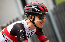 Tadej POGACAR of UAE TEAM EMIRATES during 2nd Stage of 27th Tour of Slovenia 2021 cycling race between Zalec and Celje (147 km), on June 10, 2021 in Slovenia. Photo by Vid Ponikvar / Sportida