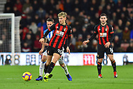 David Brooks (20) of AFC Bournemouth during the Premier League match between Bournemouth and Huddersfield Town at the Vitality Stadium, Bournemouth, England on 4 December 2018.