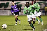 Fotball<br /> Frankrike 2004/05<br /> Istres v Saint Etienne<br /> 18. desember 2004<br /> Foto: Digitalsport<br /> NORWAY ONLY<br /> FREDERIC MENDY (ST-E)  *** Local Caption *** 40001465