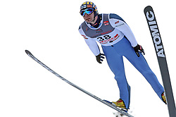 Janne Ahonen of Finland, second place, at e.on Ruhrgas FIS World Cup Ski Jumping on K215 ski flying hill, on March 14, 2008 in Planica, Slovenia . (Photo by Vid Ponikvar / Sportal Images)./ Sportida)