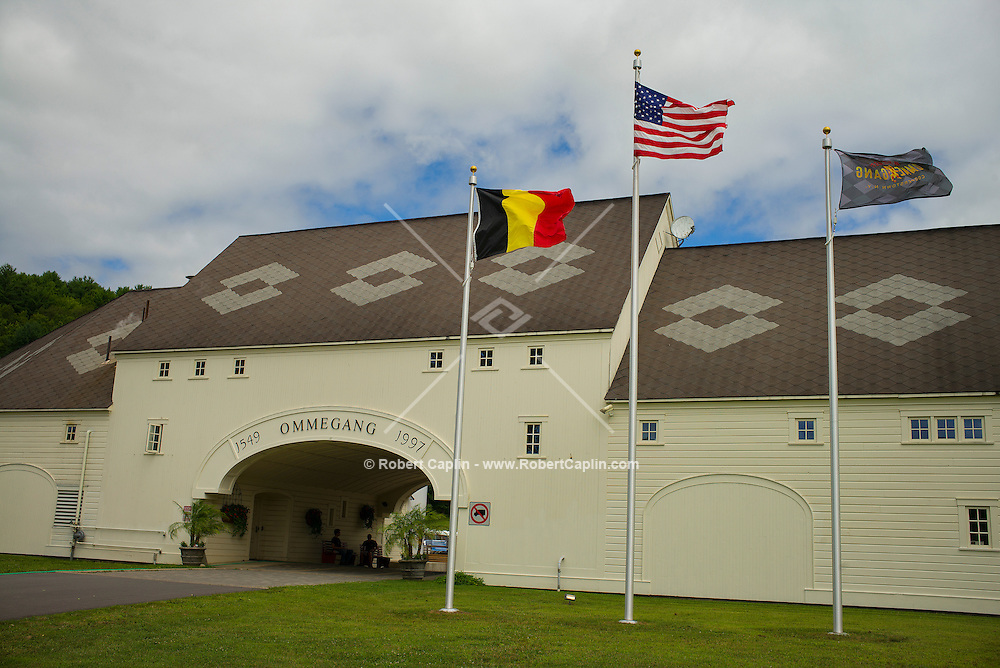 Ommegang Brewery located just outside Cooperstown, New York, home of the Major League Baseball Hall of Fame.<br /> <br /> (Photo by Robert Caplin)
