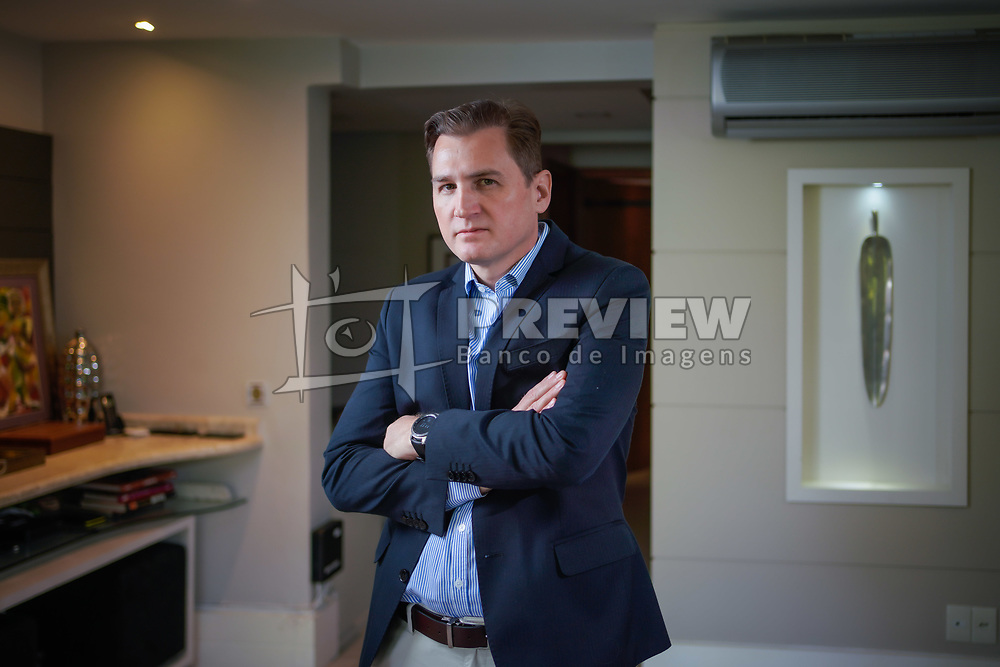 Roberto Krause Kurylenko em seu Home officce de Porto AlegreFOTO: Jefferson Bernardes/ Agência Preview