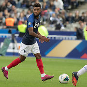 PARIS, FRANCE - September 10:  Thomas Lemar #8 of France in action during the France V Andorra, UEFA European Championship 2020 Qualifying match at Stade de France on September 10th 2019 in Paris, France (Photo by Tim Clayton/Corbis via Getty Images)