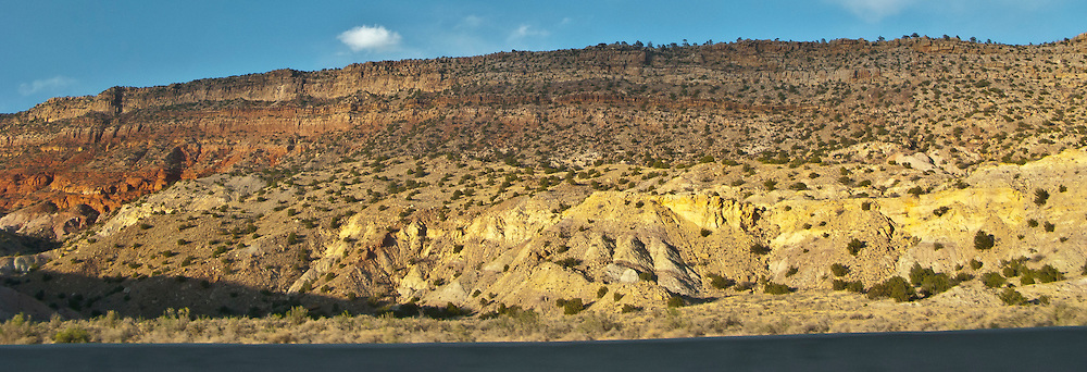 NW New Mexico geologic rock formations along US 330