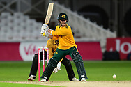 Ben Duckett of Nottinghamshire during the Vitality T20 Blast North Group match between Nottinghamshire County Cricket Club and Leicestershire County Cricket Club at Trent Bridge, Nottingham, United Kingdom on 4 September 2020.