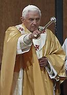 Pope Benedict XVI visit Barcelona