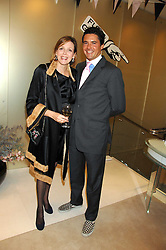 The COUNTESS OF WOOLTON and EDWARD TAYLOR  at a party to launch jeweller Boodles new store at 178 New Bond Street, London W1 on 26th September 2007.<br /><br />NON EXCLUSIVE - WORLD RIGHTS
