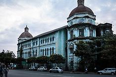 Rangoon (Yangon) Buildings, Burma (Myanmar)