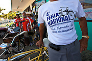 Members of the Aguada Antique Bicycle Club gather for a weekend event in Puerto Rico