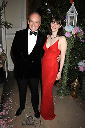 NICHOLAS & GEORGIA COLERIDGE at the Royal Academy of Art's Summer Ball held at Burlington House, Piccadilly, London on 16th June 2008.<br /><br />NON EXCLUSIVE - WORLD RIGHTS
