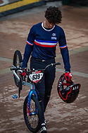 2021 UCI BMXSX World Cup<br /> Round 4 at Bogota (Colombia)<br /> 1/4 Final<br /> ^me#639 ISTIL, Anaia (FRA, ME) Sunn
