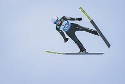 31.12.2020, Olympiaschanze, Garmisch Partenkirchen, GER, FIS Weltcup Skisprung, Vierschanzentournee, Garmisch Partenkirchen, Qualifikation, Herren, im Bild Andrzej Stekala (POL) // Andrzej Stekala of Poland during qualification jump of men's Four Hills Tournament of FIS Ski Jumping World Cup at the Olympiaschanze in Garmisch Partenkirchen, Germany on 2020/12/31. EXPA Pictures © 2020, PhotoCredit: EXPA/ JFK