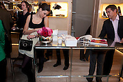 NINE D'URSO;  , Cocktail party to launch the Miss Viv bag. ( Smash-and-grab raiders seized more than a dozen  of the handbags but they were recovered after the raiders crashed their motorbike and the bags spilled out onto the street. )<br /> Roger Vivier, 188 Sloane Street, London SW1,