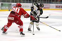 GET-ligaen Ice Hockey, 27. october 2016 ,  Stavanger Oilers v Stjernen<br /> Joshua Soares fra Stavanger Oilers i aksjon v Stjernen<br /> Foto: Andrew Halseid Budd , Digitalsport