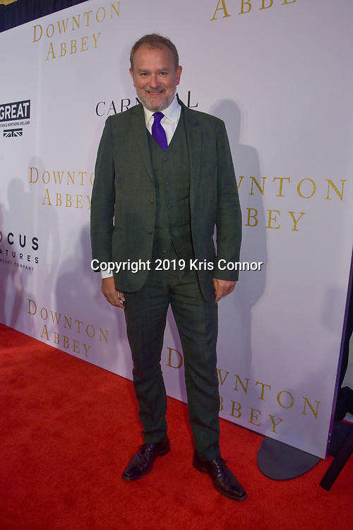 WASHINGTON DC: Actor Hugh Bonneville attends a reception for the Focus Features, Carnival  and Comcast NBCUniversal the Washington DC Special Screening of Downton Abbey at the British Ambassador's Residence on September 12, 2019 in Washington DC. (Photo by Kris Connor/Focus Features)