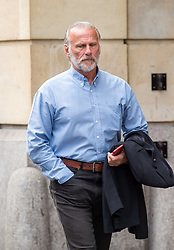 © Licensed to London News Pictures.  13/06/2018; Bristol, UK. Defendant DONALD MALISKA arrives at Bristol Crown Court in connection with the Bulmer art burglary. Eleven men appeared at court charged with offences including conspiracy to burgle and conspiracy to receive stolen goods, linked to the theft of millions of pounds of artwork and jewellery from the Bulmer cider-making family's luxury home. The 11 men are: Liam Judge, Matthew Evans, Skinder Ali, Jonathan Rees, Donald Maliska, Mark Regan, David Price, Ike Obiamiwe, Thomas Lynch, Nigel Blackburn, Azhar Mir. Paintings worth £1.7m and jewellery worth £1m were stolen from Esmond and Susie Bulmer's home in Bruton, Somerset, in 2009. Most of the paintings stolen during the burglary, such as Endymion by 19th Century painter George Frederic Watts have since been recovered. Photo credit: Simon Chapman/LNP
