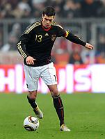 Fotball<br /> Tyskland v Argentina<br /> 03.03.2010<br /> Foto: Witters/Digitalsport<br /> NORWAY ONLY<br /> <br /> Michael Ballack Deutschland<br /> Testspiel Deutschland - Argentinien