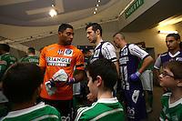 Uros Spajic / Zacharie Boucher - 28.02.2015 - Toulouse / Saint Etienne - 27eme journee de Ligue 1 -<br />Photo : Manuel Blondeau / Icon Sport